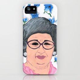 Catherine Scorsese iPhone Case