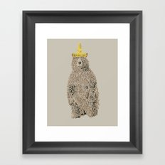 Honey Bear Framed Art Print