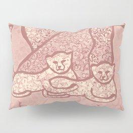 Family Cheetahs Pillow Sham