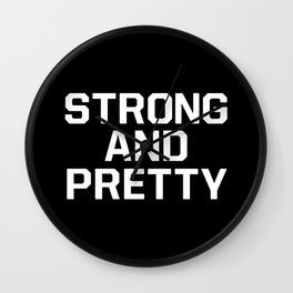 Strong and pretty Wall Clock