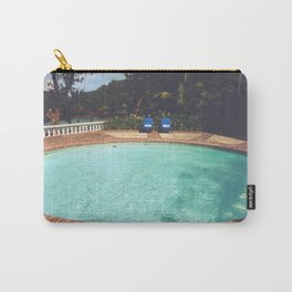 Two Chairs at the Pool Carry-All Pouch