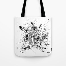 Rome map Tote Bag
