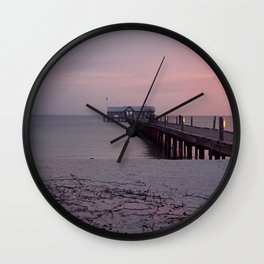And So It Begins Again Wall Clock