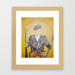 HUEY P. NEWTON Framed Art Print