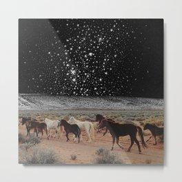 Sky Horse Metal Print