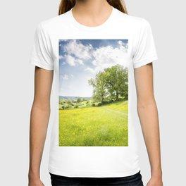 Idyllic Cotswold Summer Landscape T-shirt
