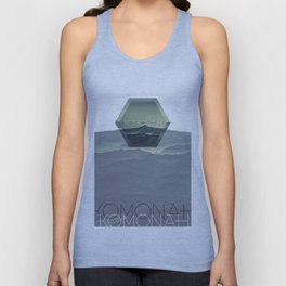 KOMONAH Font Design Unisex Tank Top
