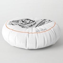 Crazy Car Art 0196 Floor Pillow