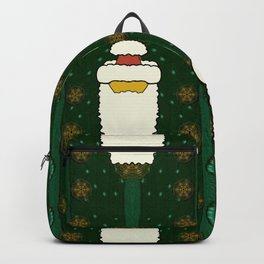 Merry Mr. santas comes with glimmering stars Backpack