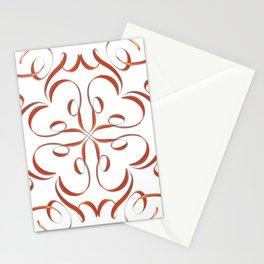Hand Drawn Modern Mandala Stationery Cards