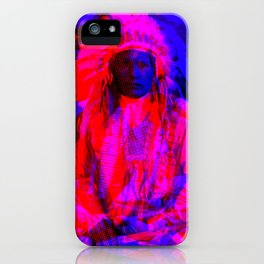 Indian Pop 82 iPhone Case
