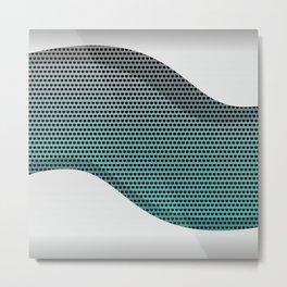 Silver Metal Texture background  #society6 #decor #buyart #artprint Metal Print
