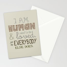 How Soon Is Now? Stationery Cards