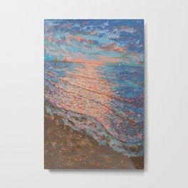 Sundown Good Harbor Metal Print
