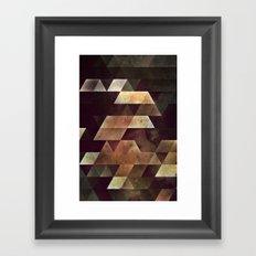 hwws yf lyyvvs Framed Art Print