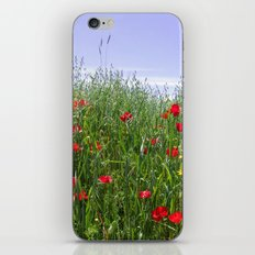 Poppy Meadow iPhone & iPod Skin