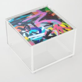 Street Art Graffiti Photography by Dominic Joyce Acrylic Box