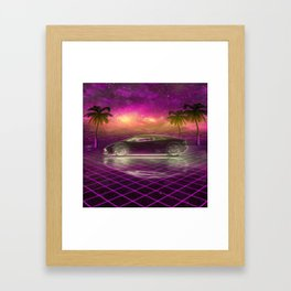 Back to the eighties Framed Art Print
