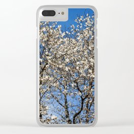 May flowering tree Clear iPhone Case