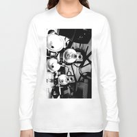cameras Long Sleeve T-shirts featuring Cameras by Yancey Wells