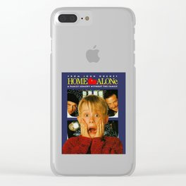 Home Alone Clear iPhone Case