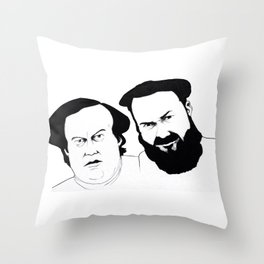 Mulligan and O'Hare Throw Pillow