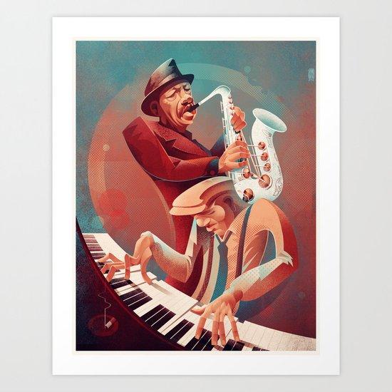 Ornette Coleman - Ramblin Art Print