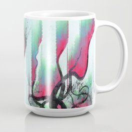 aurora in the water Coffee Mug