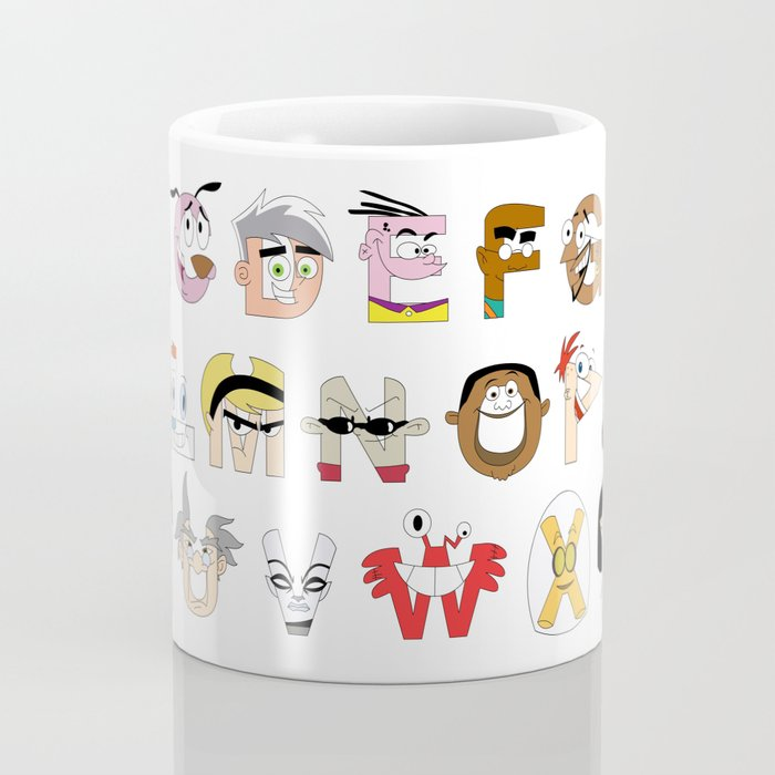 Child of the 00s Alphabet Coffee Mug