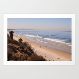 Morning in Carlsbad, California Art Print