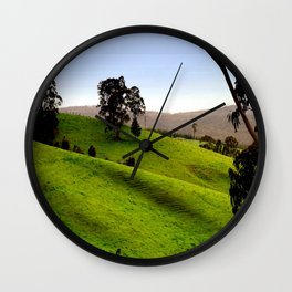 Valley of a Thousand Hills Wall Clock