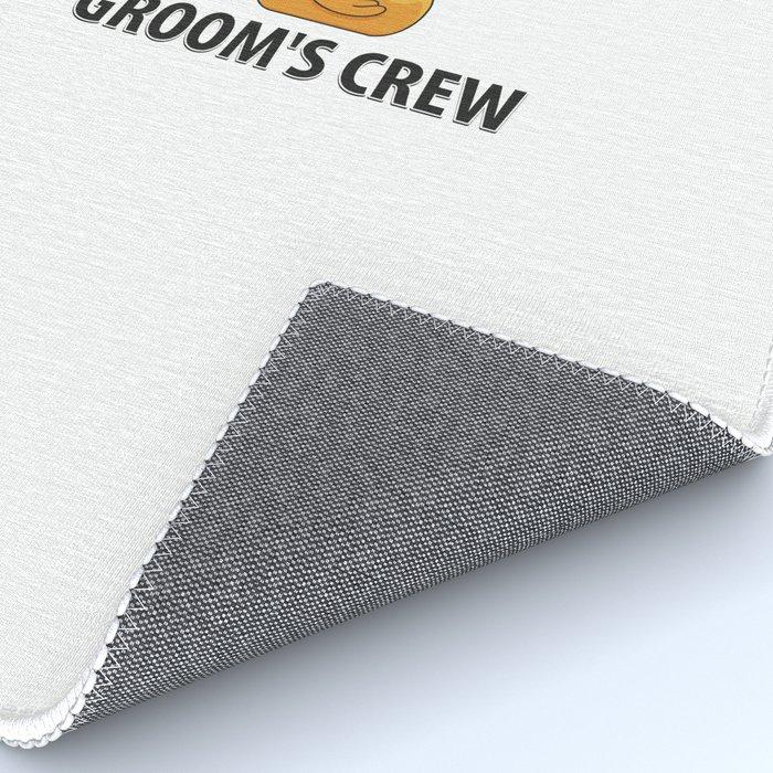 Groom's Crew Rubberducks Gift Rug