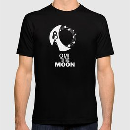 OMI to the Moon ECOMI cryptocurrency alt coins T-shirt