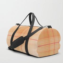 Scottish plaid tartan pattern Duffle Bag