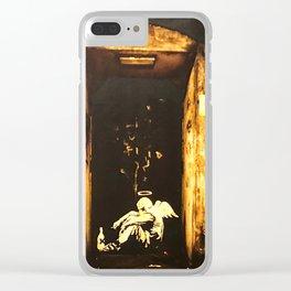 Fallen Angel Clear iPhone Case