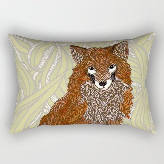 Foxy Lady Rectangular Pillow