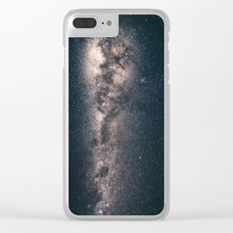 milky way stars Clear iPhone Case
