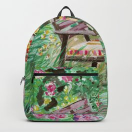The table in the garden Backpack