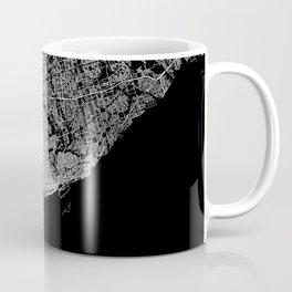 toronto map Coffee Mug