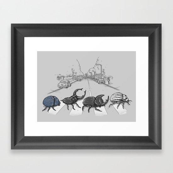 The Beetles Framed Art Print
