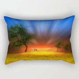 Ein neuer Tag Rectangular Pillow