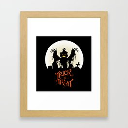 Jeepers Creepers Framed Art Print