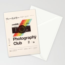 Photography Club Stationery Cards