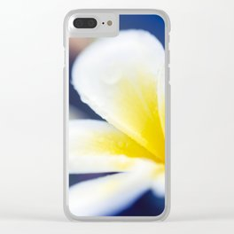 Wild Blue Morning Clear iPhone Case