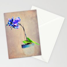 blue Orchid Stationery Cards