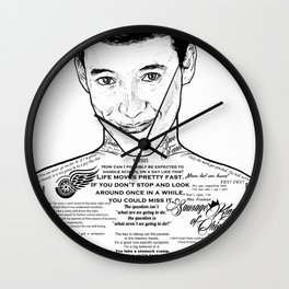 Save Ferris The Righteous Dude Wall Clock