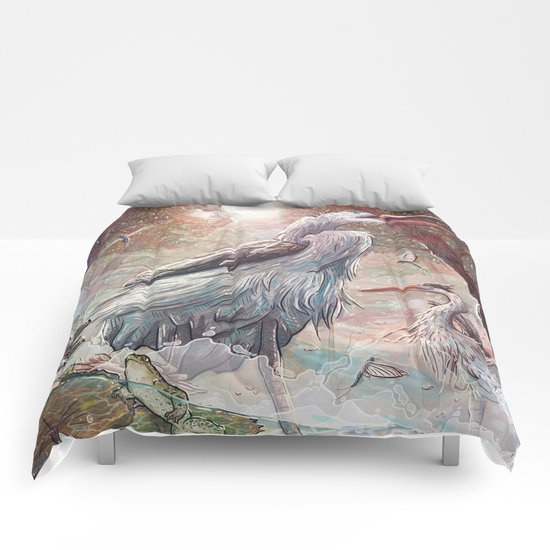 At the River Bend Comforters