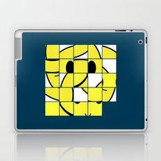 Acid Smiley Shuffle Puzzle Laptop & iPad Skin