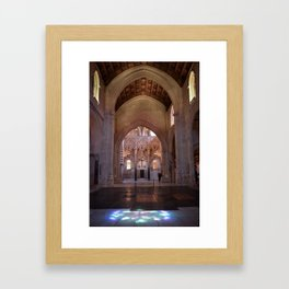 Conjoined Faiths 2 (Mosque-Cathedral of Cordoba) Framed Art Print