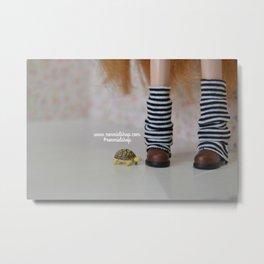 Tortoise love - Blythe doll #11 Metal Print